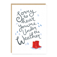 Jade Fisher 'Under The Weather' Card